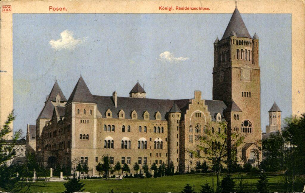 Historyczne pocztówki z Zamkiem