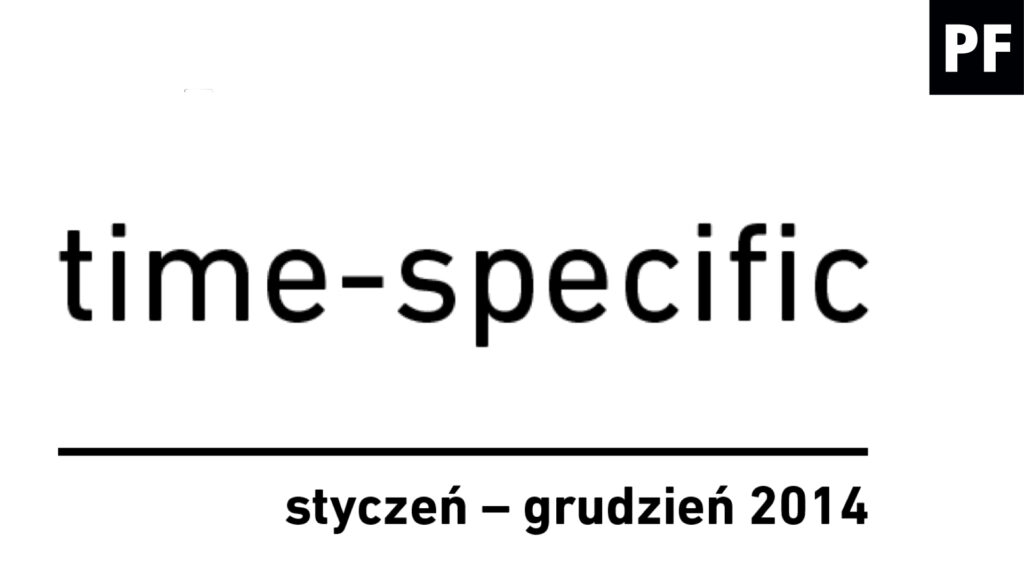 time-specific / cykl wystaw